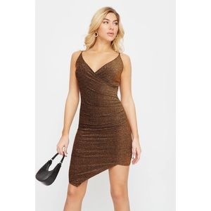 Gold dress - XS (with tags)